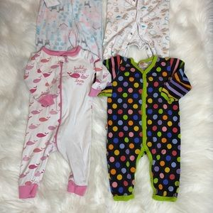 2/$25 Baby Sleepers 3-6M Bundle of 8 Pieces